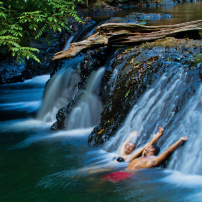 Waterfall in Costa Rica Corvocado NP Credit Ralph Lee Hopkins Lindlblad Expeditions