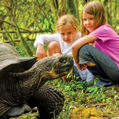 Young explorers in the Galapagos Credit Ralph Lee Hopkins Lindblad Expeditions