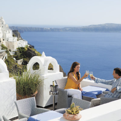 Santorini Couple Credit Regent Seven Seas