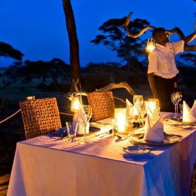 Africa tanzania tarangire national park sanctuary swala dining