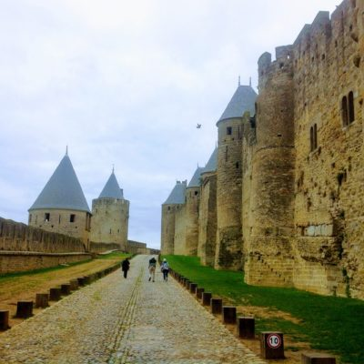 Carcassone France Medieval Village Credit Pearl Lemauviel