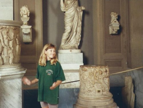 At The Vatican 1996