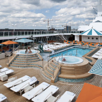 Crystal Serenity Seahorse Pool And Jacuzzis
